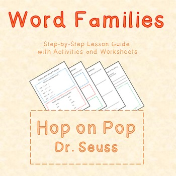 Word Families Lesson with Hop on Pop by Dr Seuss by Lesson Land