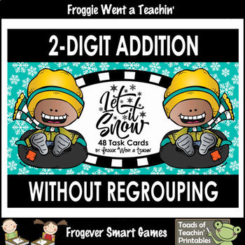 2-Digit Addition Without Regrouping -- \