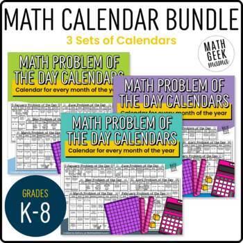 free printable 2018 monthly motivational calendars2019 math problem