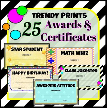 25 Trendy Printable Awards  Certificates by Speech Debate ELA etc