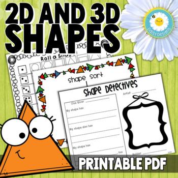 2d 3d Shapes Worksheets 2013 Joetrainer Cvfreeletters3d shapes