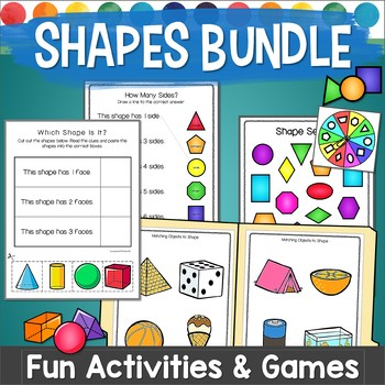 3d Objects And 2d Shapes Teaching Resources Teachers Pay