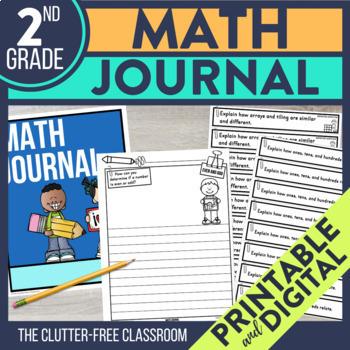 2nd Grade Math Journal Prompts Math Journals 2nd Grade Math