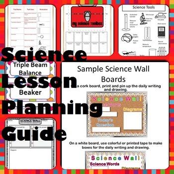 Science Lesson Plans (TEKS) by Elementary Ali - Teacher\u0027s Workstation