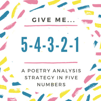 A Poetry Analysis Strategy in 5 Numbers by Kim\u0027s Literary Methods