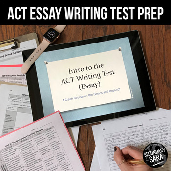 ACT Writing 4+ Days of Essay Test Prep (2018-19 Edition) by