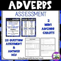 Adverb Quiz & Answer Key by The Owl Teach