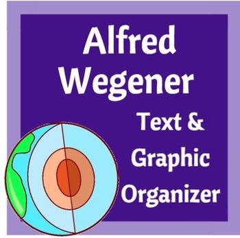 Alfred Wegener\u0027s Continental Drift Theory Graphic Organizer TpT