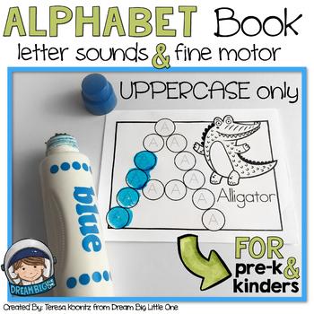 Bingo Dauber Alphabet Worksheets  Teaching Resources TpT