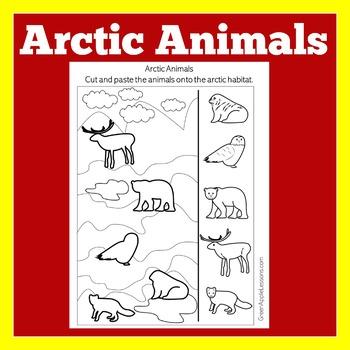 Arctic Animal Printable Arctic Animals Worksheet Arctic Animals