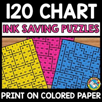 120 Chart Puzzles Teaching Resources Teachers Pay Teachers