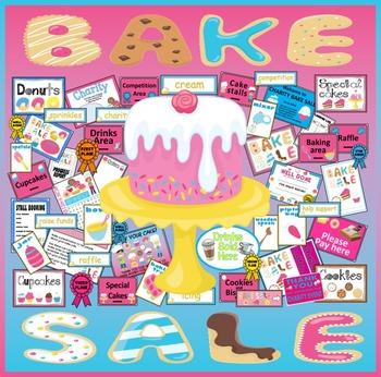 BAKE SALE TEACHING RESOURCES CAKE CHARITY FOOD