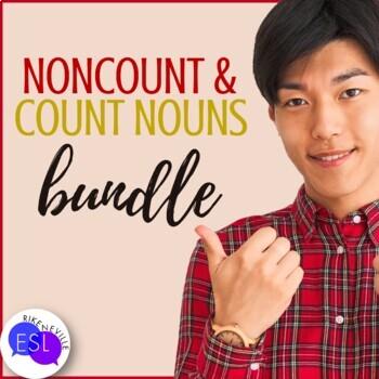 Count  Noncount Nouns BUNDLE by Rike Neville TpT