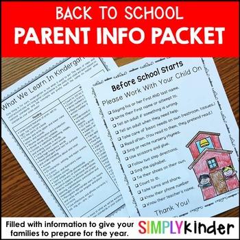 Free For Parents Resources  Lesson Plans Teachers Pay Teachers - letters to the parents
