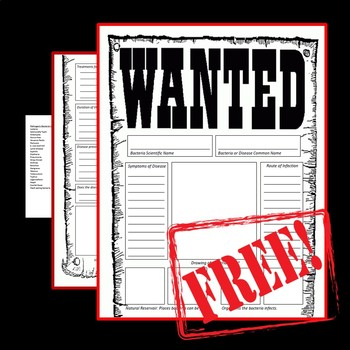 Wanted Poster Template Teaching Resources Teachers Pay Teachers - most wanted posters templates