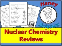 Balancing Nuclear Reactions Worksheet by Haney Science | TpT