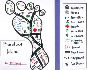 Barefoot Island Mapping Symbols By Kyle Knips Tpt