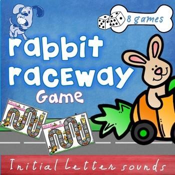 Rabbit Raceway Phonics Letter Sound Games by Toby\u0027s Textbook TpT