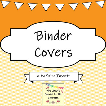 Binder Covers and Folder Spine Inserts ~ Plaid Designs ~ Editable by