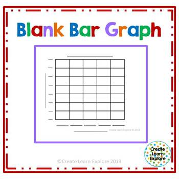 Free 3rd grade Graphing Math Centers Resources \ Lesson Plans - blank bar graph printable