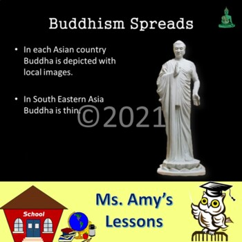 Ancient India Buddhism PowerPoint Presentation by Skool Aid Products