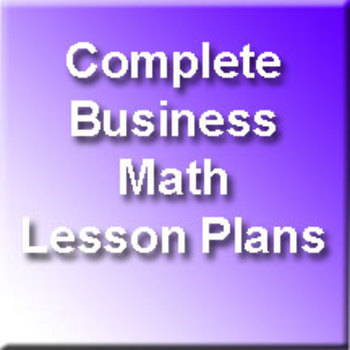 Business Math Forms of Compensation - Unit 6 of 6 by Geary Page TpT