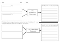 CT Compromise 3/5 Compromise Graphic Organizer by Mr ...