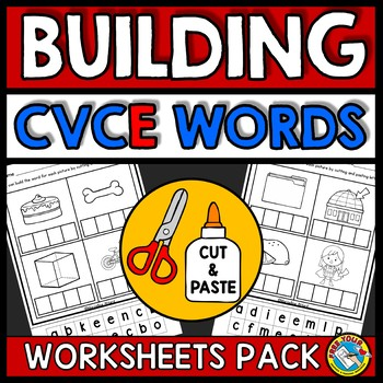 Cvce Worksheets Teaching Resources Teachers Pay Teachers