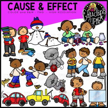 Clipart Cause And Effect Teaching Resources Teachers Pay Teachers