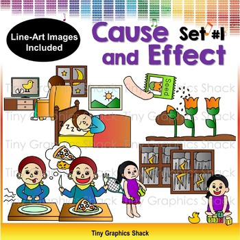 Cause and Effect Clip Art 1 by Tiny Graphics Shack TpT