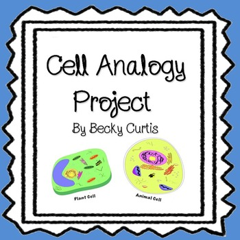 Cell Function Analogy Worksheets  Teaching Resources TpT