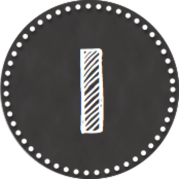 Chalkboard Number Labels (Circular) - Avery 5294 by The Beachy Teacher