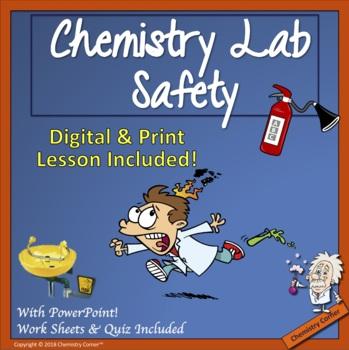 Chemistry Lab Safety Lesson by Chemistry Corner TpT