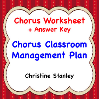 classroom management plan template Worksheets  Teaching Resources TpT