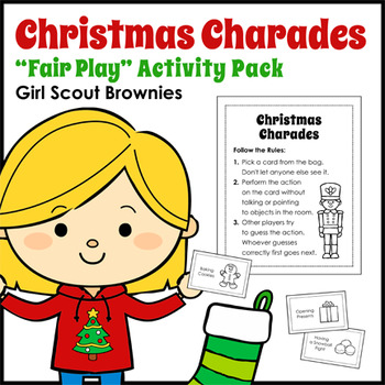 Christmas Charades - Girl Scout Brownies - \