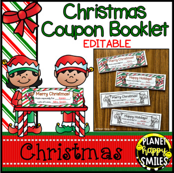 Christmas Coupon Book by Planet Happy Smiles Teachers Pay Teachers