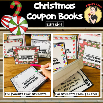 Christmas Coupon Book Gift by Apple\u0027s Class Teachers Pay Teachers