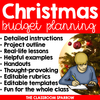 Christmas Math Project Personal Finance, Budgeting, and Holiday
