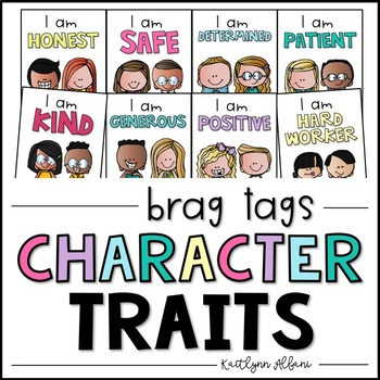 Classroom Expectations - Character Traits Posters by Kaitlynn Albani