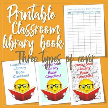 Classroom Library Books Checkout Printable Booklet by Laura\u0027s Edu - checkout a book