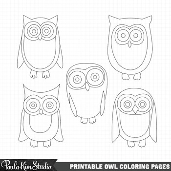 Black And White Owl Printable. black and white owl print
