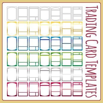 Trading Card Template Teaching Resources Teachers Pay Teachers