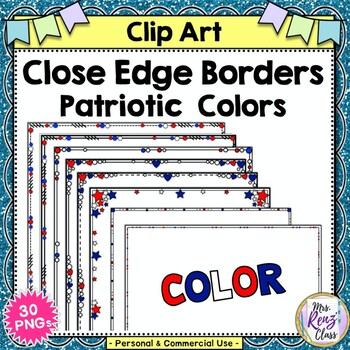 Patriotic Border Teaching Resources Teachers Pay Teachers