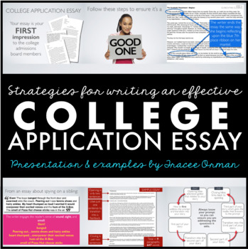 College Application Essay - Personal Essay Editable Tutorial by