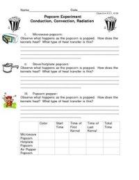 Conduction Convection Radiation Worksheets - Kidz Activities