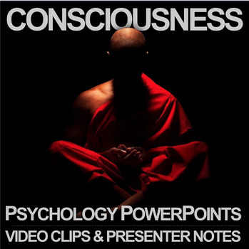 Consciousness Psychology PowerPoint with Video Clips by Lesson Plan
