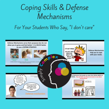 Coping Skills and Defense Mechanisms; Twice Exceptionals Who Say \ - defense mechanisms