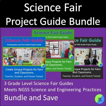 Science Fair Project Guide Bundle Create Original Projects With K-5th