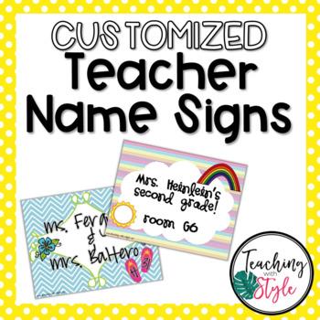 Printable Name Sign Teaching Resources Teachers Pay Teachers