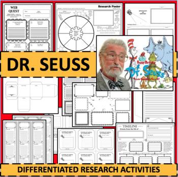 Dr Seuss Timeline Worksheets  Teaching Resources TpT